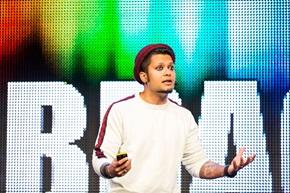 – Varmista, että asiakkaat rakastuvat tuotteisiisi ja palveluihisi, sanoo Rahul Lindberg Sen, Spotifyn Lead, Growth Designer.